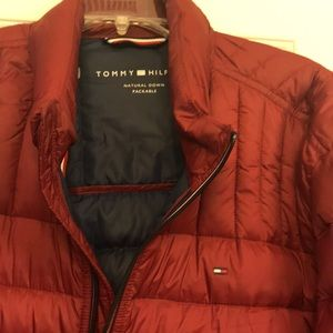 faa678ffc Tommy Hilfiger packable natural down coat
